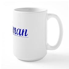 Stallman, Blue, Aged Mug