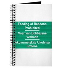 Don't feed the baboons! Journal