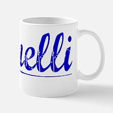 Spinelli, Blue, Aged Mug