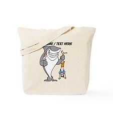 Custom Shark Bully Tote Bag