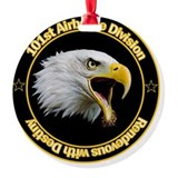 Airborne Round Ornament