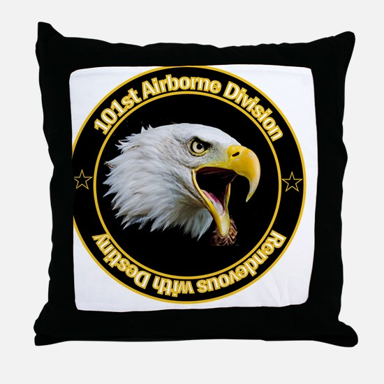 101st Airborne Throw Pillow