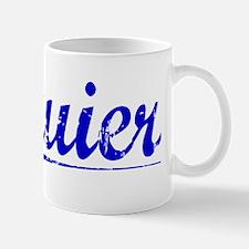 Squier, Blue, Aged Mug