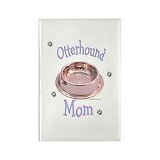 Otterhound Mom Rectangle Magnet