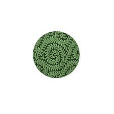 green swirl Mini Button