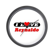 I Love Reynaldo Wall Clock