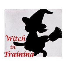 witch in training Throw Blanket
