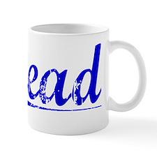 Stead, Blue, Aged Mug