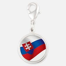 Slovakia Flag Charms