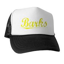 Barks, Yellow Trucker Hat