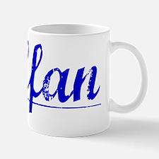 Steffan, Blue, Aged Mug