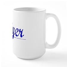 Steiger, Blue, Aged Mug