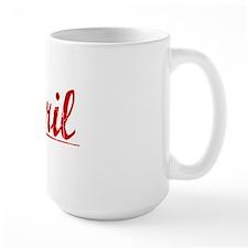 Abril, Vintage Red Mug