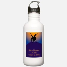 Black Pegasus At The D Water Bottle