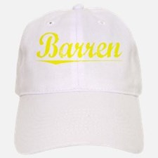 Barren, Yellow Baseball Baseball Cap