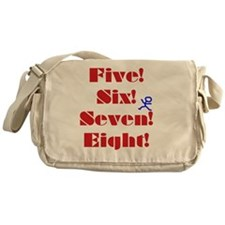Numbers Spelled Out Messenger Bag