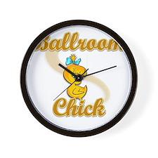 Ballroom Chick #2 Wall Clock