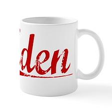 Aden, Vintage Red Mug