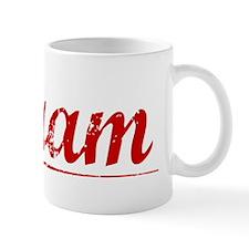 Abram, Vintage Red Mug