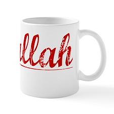 Abdullah, Vintage Red Mug