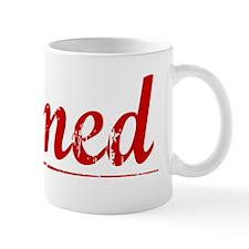 Ahmed, Vintage Red Mug