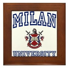 MILAN University Framed Tile