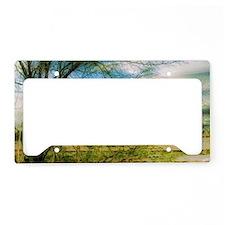 thru the branches License Plate Holder