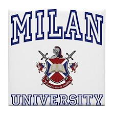 MILAN University Tile Coaster