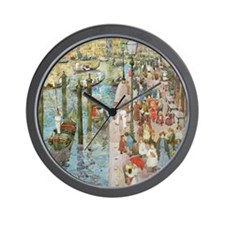 Maurice Prendergast Venice Grand Canal Wall Clock