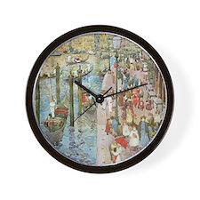 Maurice Prendergast Venice Grand Canal Wall Clock