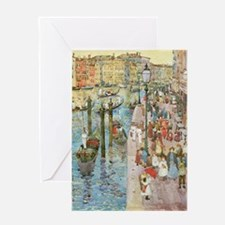Maurice Prendergast Venice Grand Can Greeting Card