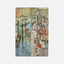 Maurice Prendergast Venice Grand  Rectangle Magnet