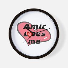 amir loves me  Wall Clock