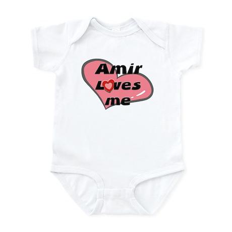 amir loves me Infant Bodysuit
