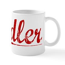 Adler, Vintage Red Mug