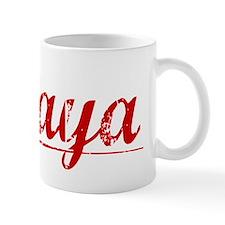 Amaya, Vintage Red Mug
