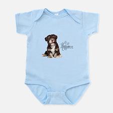 Havanese Puppy Infant Bodysuit