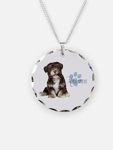 Havanese Puppy Necklace
