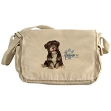 Havanese Puppy Messenger Bag