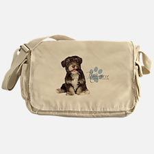 Havanese Puppy Messenger Bag
