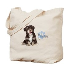 Havanese Puppy Tote Bag