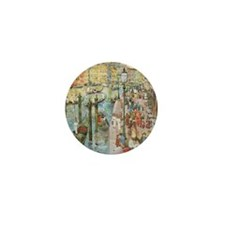 Maurice Prendergast Venice Grand Canal Mini Button