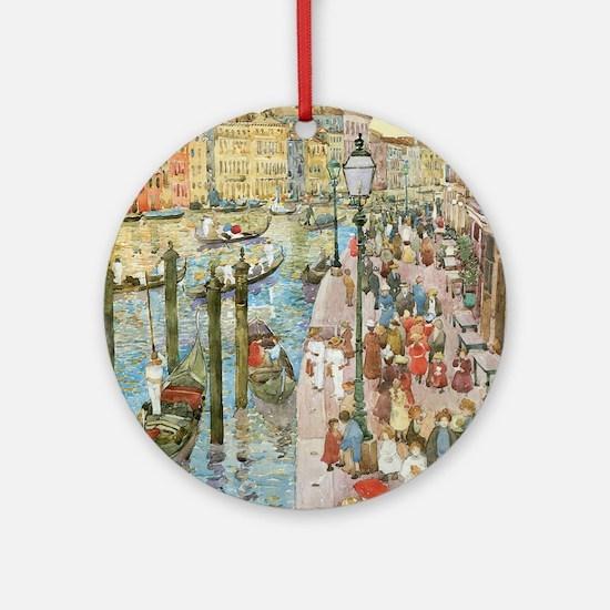 Maurice Prendergast Venice Grand Ca Round Ornament