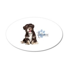 Havanese Puppy Wall Decal