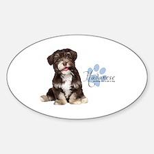 Havanese Puppy Decal