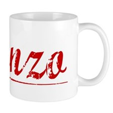 Alonzo, Vintage Red Mug