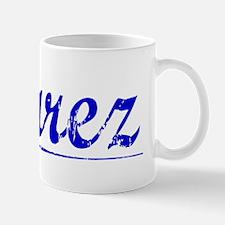 Suarez, Blue, Aged Mug