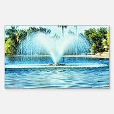 water fan Decal
