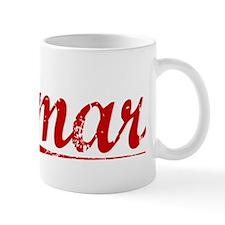 Amar, Vintage Red Mug