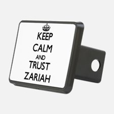 Keep Calm and trust Zariah Hitch Cover